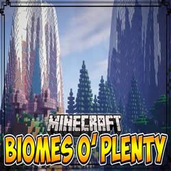 Biomes O' Plenty Mod 1 14 4/1 13 2/1 12 2 (New Biomes