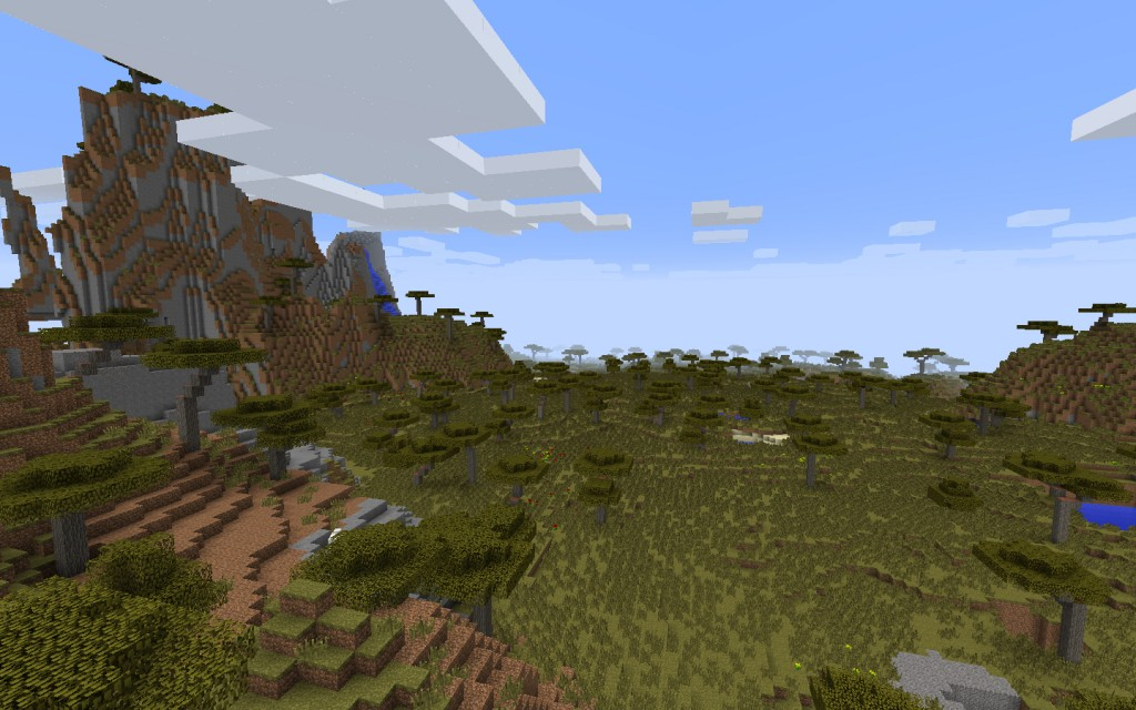 Desert Temple and Village Near the Jungle Seed for Mineraft 1.7.10/1.8.0 Screenshot 8