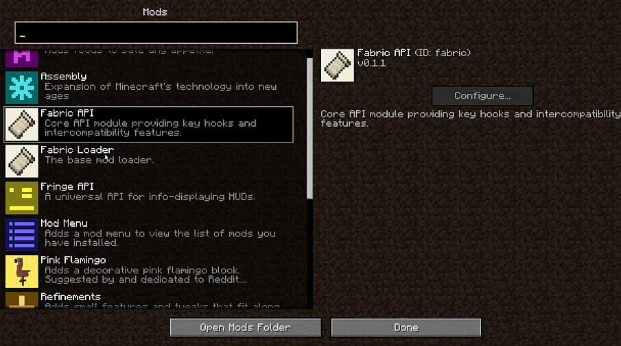 Fabric Mod Loader for Minecraft 1 14 | MinecraftGames