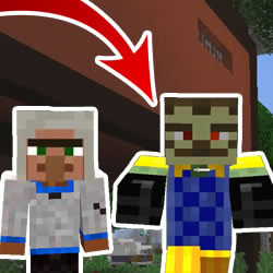 Minecraft Noob vs Zombie Neighbor