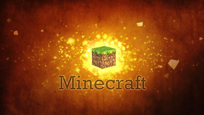 Minecraft Digital Art Wallpaper