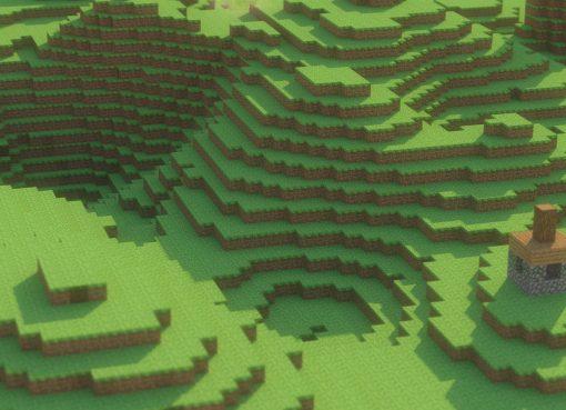 Minecraft Landscape Wallpaper 2560x1600