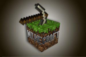 Minecraft Logo Wallpaper