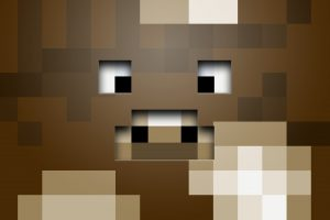 Funny Cow Minecraft Wallpaper