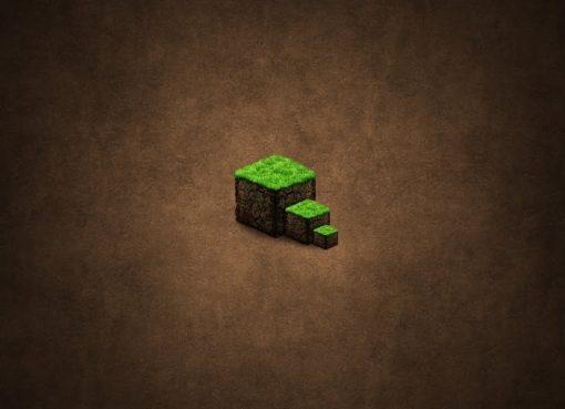 The Dirt Block Minecraft Wallpaper