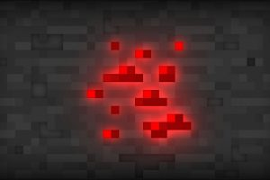 Redstone in Minecraft Wallpaper