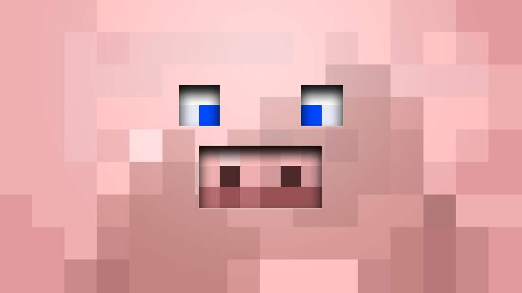 Minecraft Pig Wallpaper Download