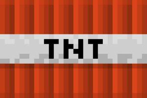 Minecraft TNT Wallpaper