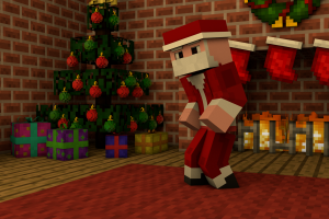Minecraft Christmas Wallpapers