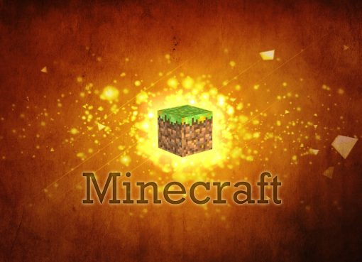 Minecraft Digital Art Wallpaper 2560x1440
