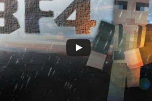 Battlefield 4 Video in Minecraft Style