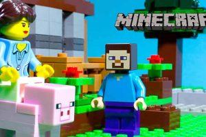 Lego Minecraft Love Story