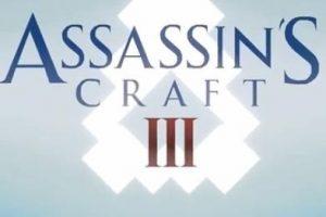 Assassin's Craft 3 Minecraft Parody