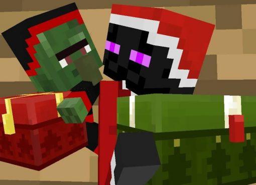 Merry Christmas Minecraft Video