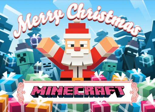 Merry Christmas Minecraft Wallpapers