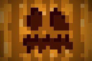 Minecraft Pumpkin Halloween Wallpaper 1920x1080