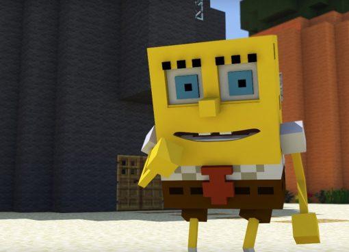 Spongebob in Minecraft Video Animation