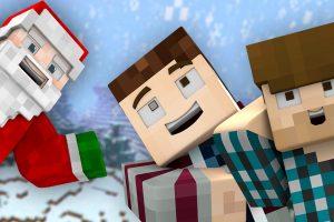 A Merry Minecraft Christmas Wallpaper 1920x1080