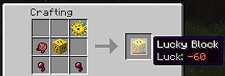 Lucky Block Mod Crafting 3