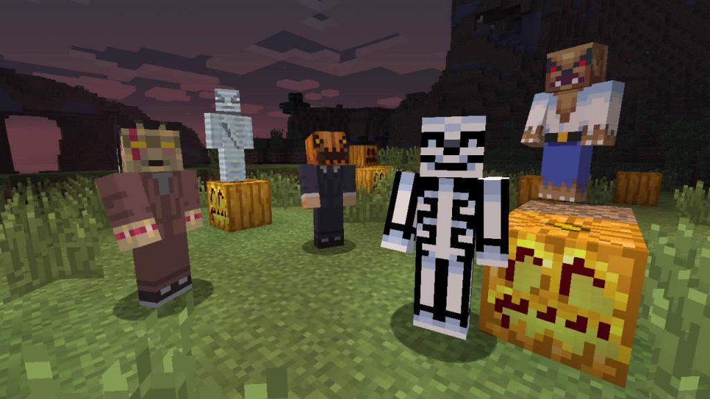 Minecraft Halloween Mod Screenshot