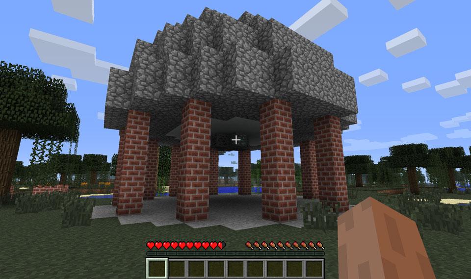 Ruins Minecraft Mod Screenshot 2