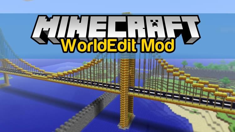 WorldEdit Mod for Minecraft 1.12/1.7.10
