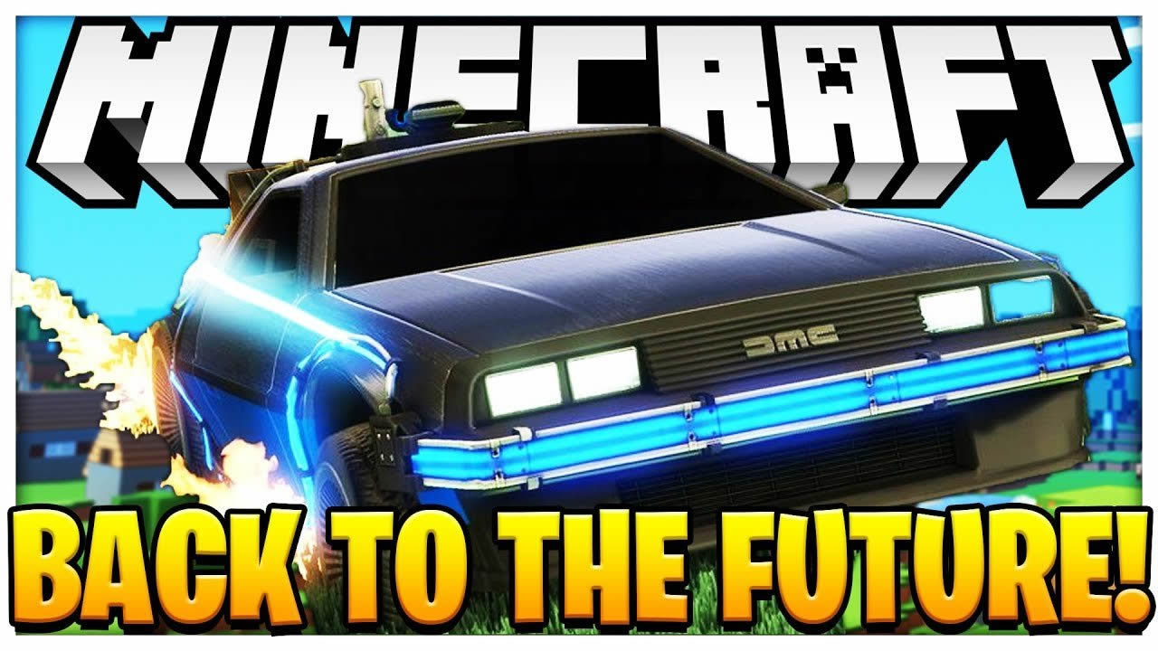 Back to the Future Return Mod for Minecraft 1.12.2