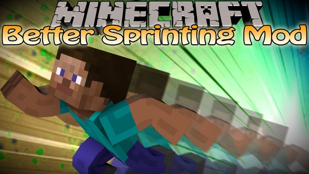 Better Sprinting Mod for Minecraft 1.13.2/1.12.2/1.11.2/1.10.2