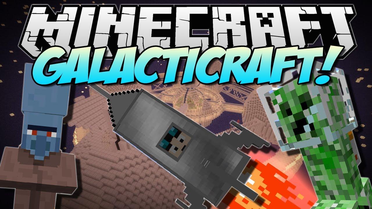 Galacticraft Mod 1.12.2/1.11.2/1.10.2/1.8.9/1.7.10