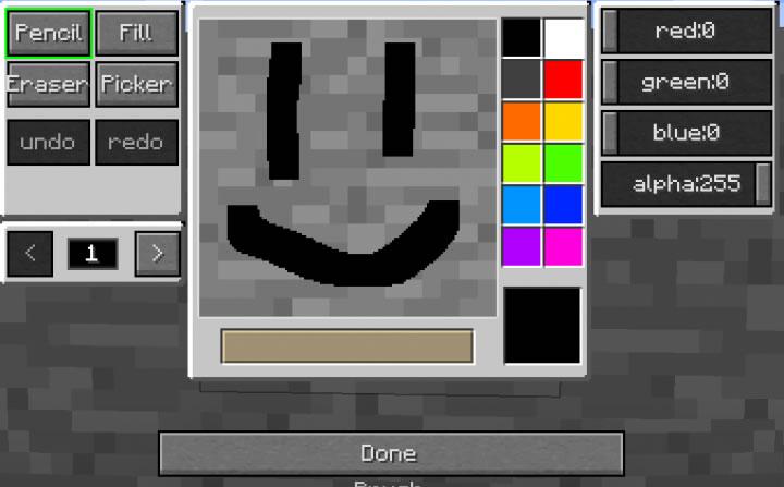 MC Paint Mod Screenshot 2