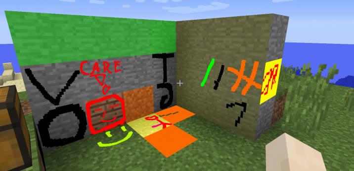 MC Paint Mod Screenshot 3