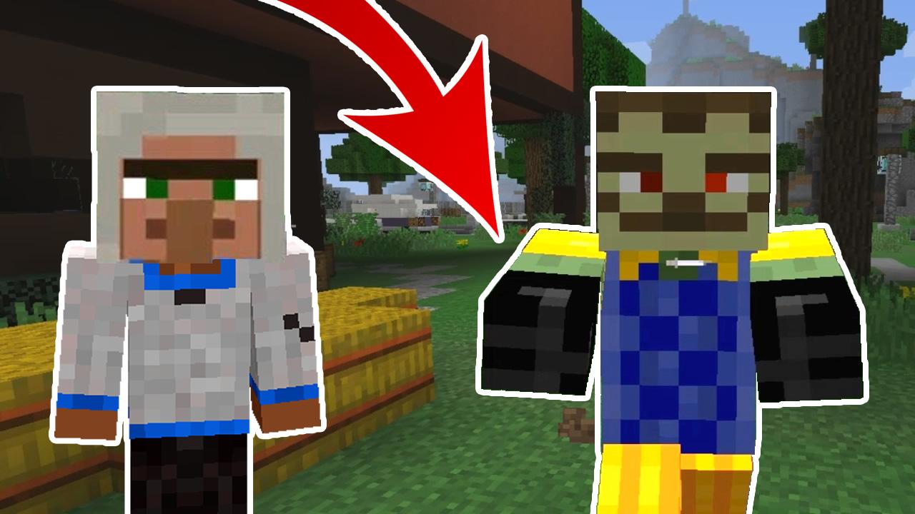 Minecraft Noob vs Zombie Neighbor