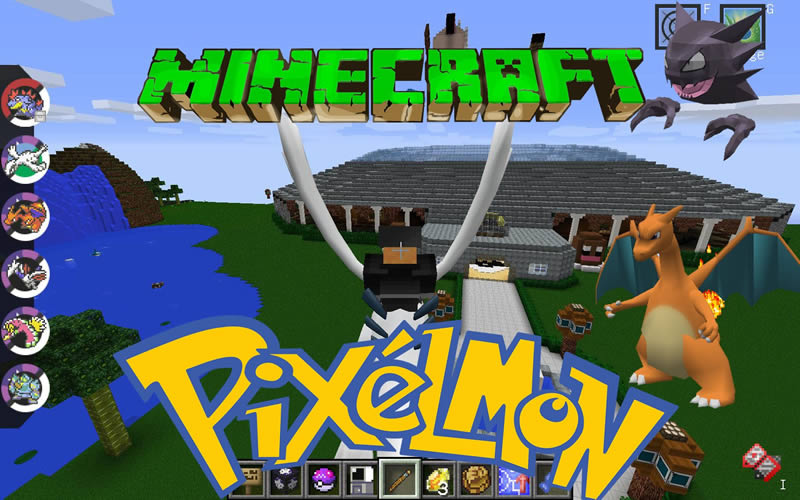 Pixelmon - Pokemon Mod for Minecraft 1.12.2/1.10.2/1.8.9/1.7.10