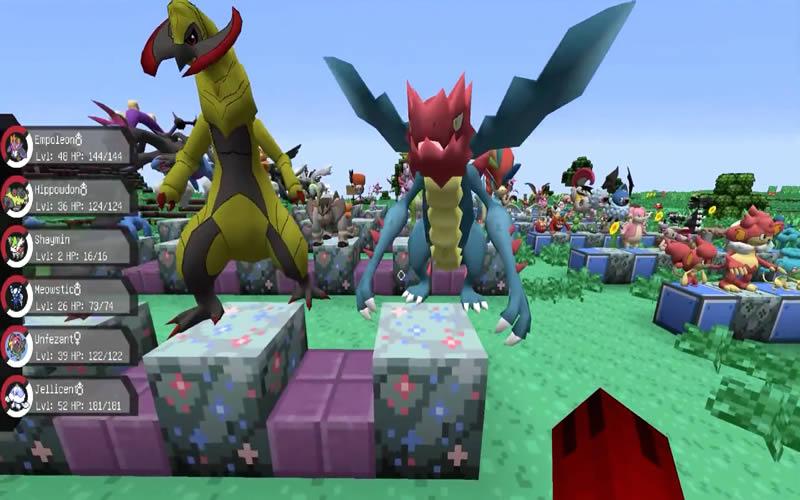 Pixelmon Mod Screenshot 3