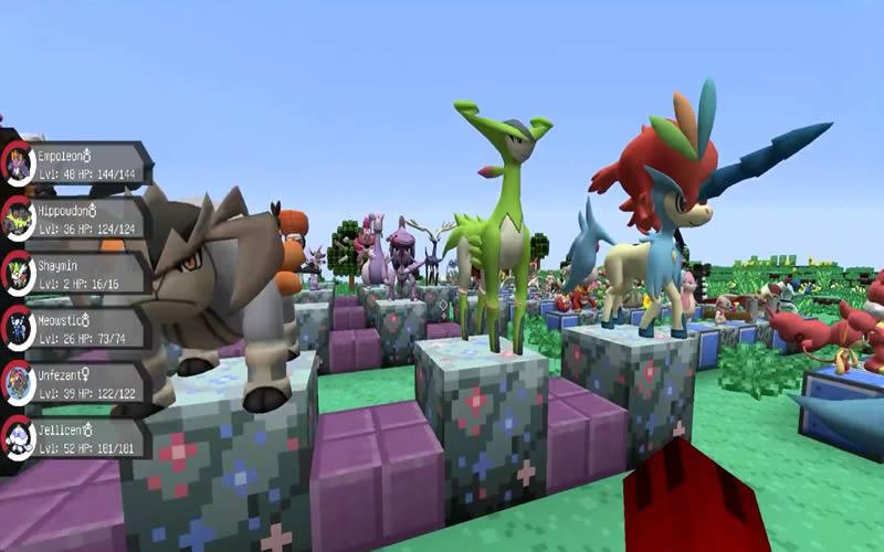 Pixelmon Mod Screenshot 6