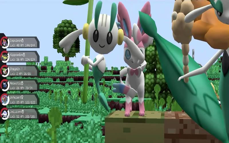 Pixelmon Mod Screenshot 7