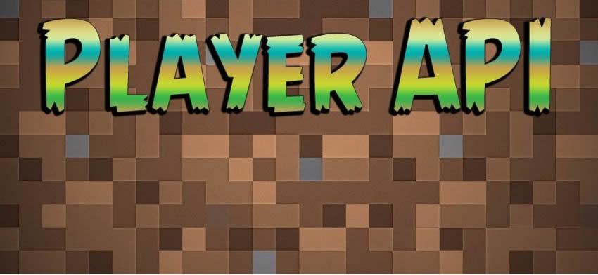 Player API Mod for Minecraft 1.12.2/1.11.2/1.10.2/1.7.10