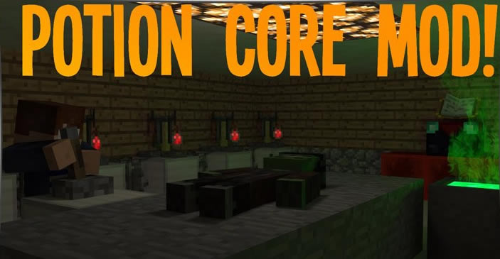 Potion Core Mod for Minecraft 1.12.2/1.7.10