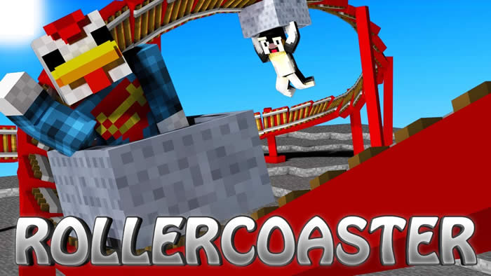 Rollercoaster Mod for Minecraft 1.7.10/1.7.2