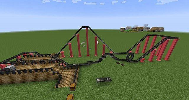 Rollercoaster Mod Screenshot