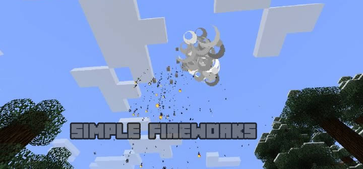 Download Simple Fireworks Mod for Minecraft 1.14 ...
