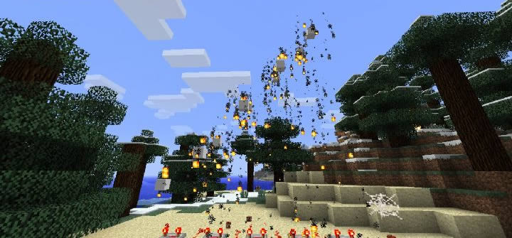 Simple Fireworks Mod Screenshot 5