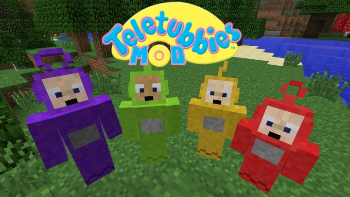 Teletubbies Mod for Minecraft 1.12.2/1.11.2/1.10.2/1.7.10