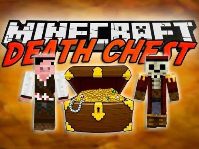 Vanilla Death Chest Mod for Minecraft 1.13.2/1.12.2/1.8/1.7.10