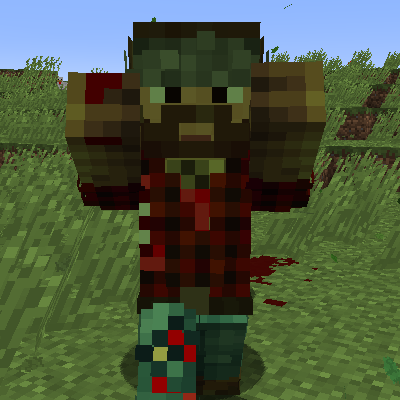 Zombie Players Mod for Minecraft 1.12.2