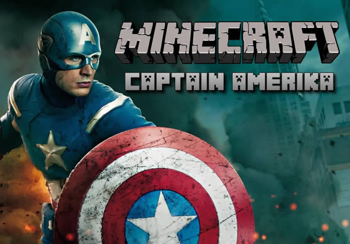 Captain America Mod for Minecraft 1.8/1.7.10