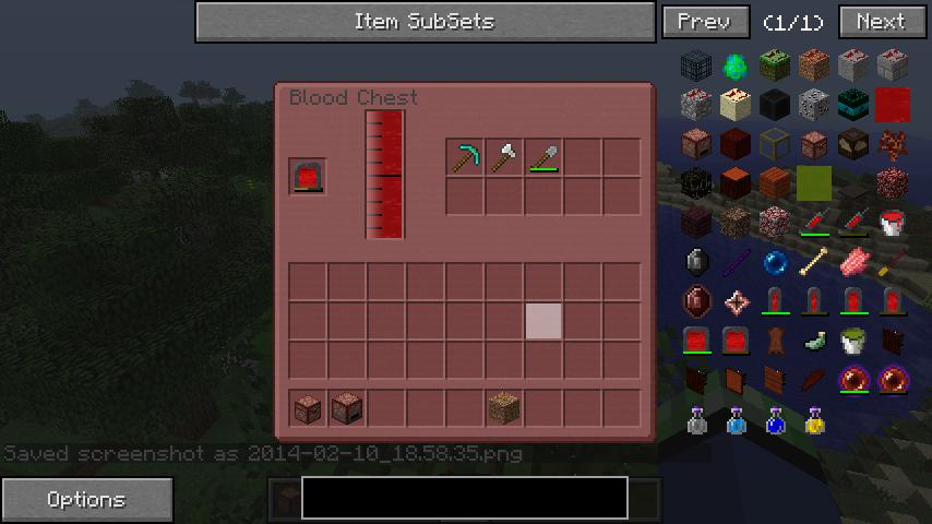 EvilCraft Mod Screenshot 2