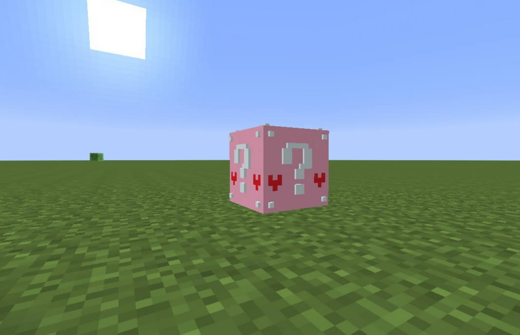 Lucky Block Pink Mod for Minecraft 1.12.2/1.7.10