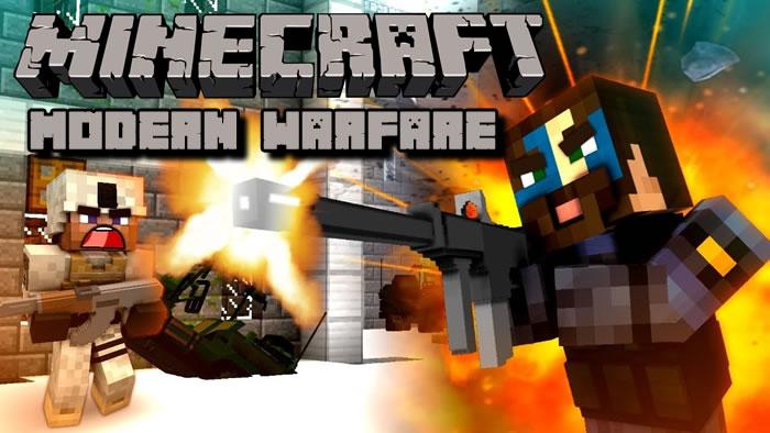 Modern Warfare Mod for Minecraft 1.12.2/1.11.2/1.7.10