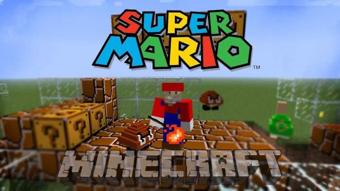 Super Mario Mod for Minecraft 1.5.2/1.7.10